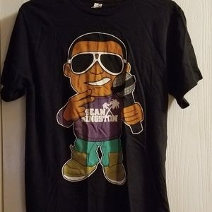 Sean Kingston cartoon shirt size M